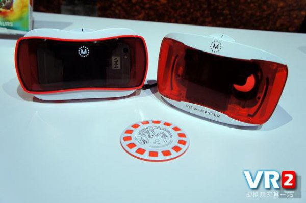 View-Master VR头盔体验